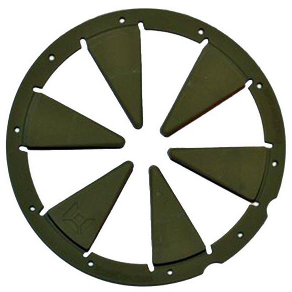 Exalt Dye Rotor Feedgate oliv