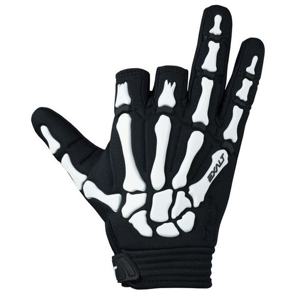 Paintball Handschuhe Exalt Death Grip Gloves weiß