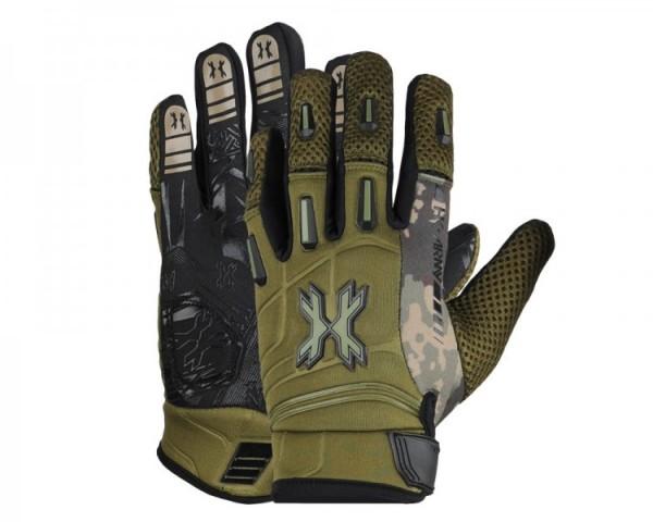 Gloves HK Army Pro Gloves Full Finger Camo olive
