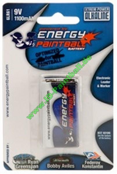 Energy Paintball Battery 9 Volt Block Pack 1
