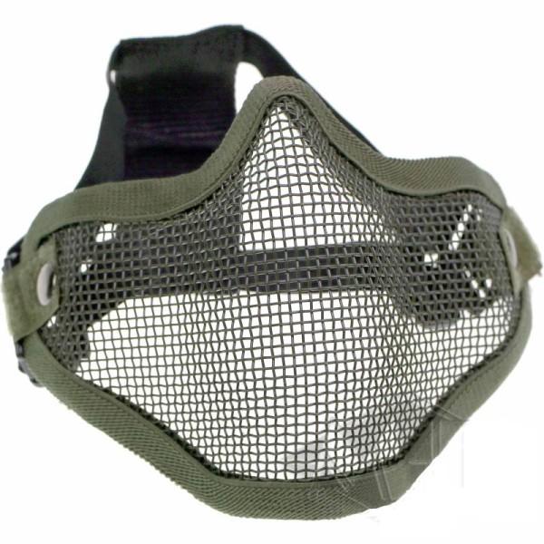 Gittermaske für Airsoft Oliv
