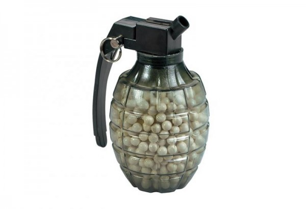 800 Softair BBs 0,12g in Handgranate