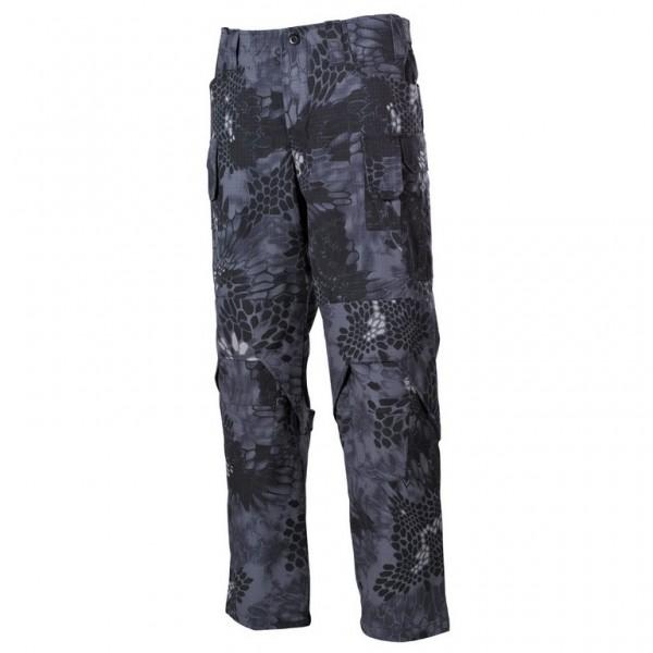 Snake Camo Black Pants Trousers