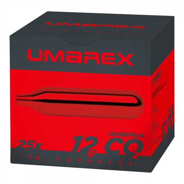Umarex CO2 Kapseln Inhalt: Karton 25 x 12 g