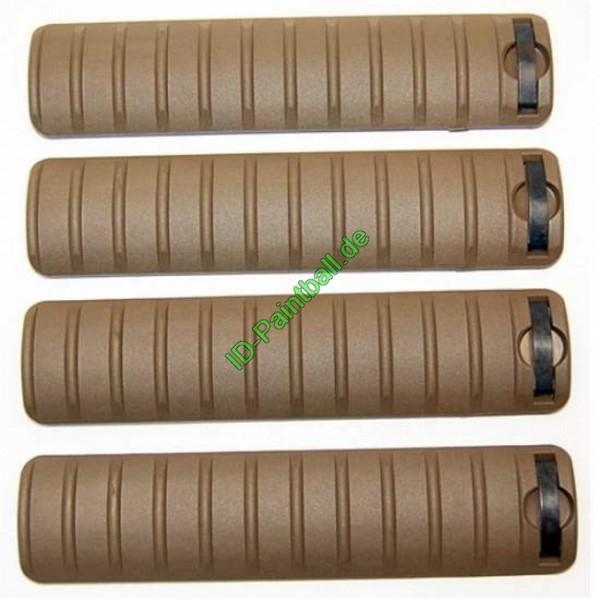 Weaver Rail Covers Long 4er Pack