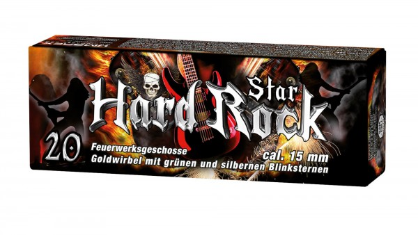 Umarex Hard Rock Star Signalsterne - Inhalt: 20 Stk.