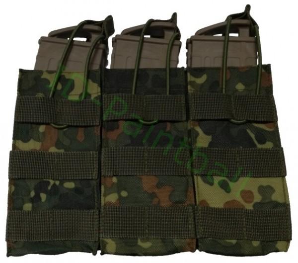 Molle 3er Magazintasche für T15 TMC Milsig DAM