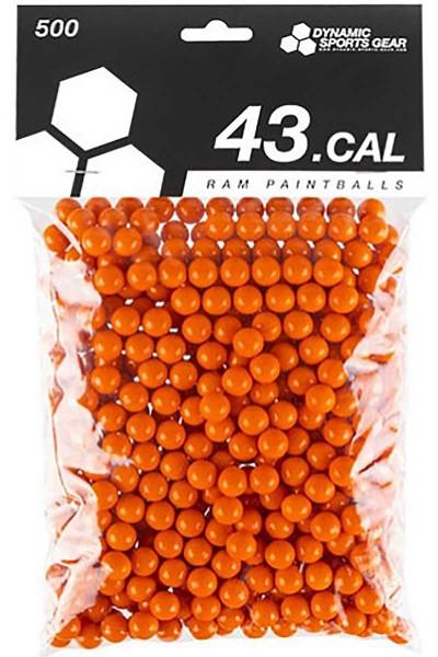 DSG RAM Paintballs cal.43 500 Stück orange