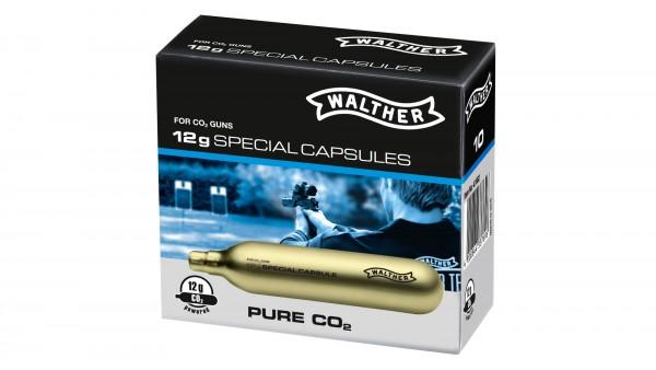 Walther 12g Co2 Kapseln 10 Stück