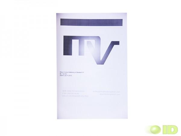 Deutsches Benutzerhandbuch für die Marq Victory