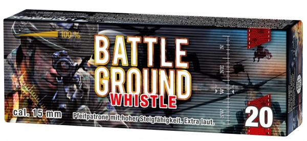 Umarex Battle Ground Whistle Pfeifen Cal 15mm Signalsterne