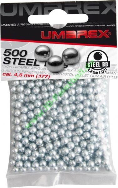500 Umarex BB Stahlkugeln 4,5mm