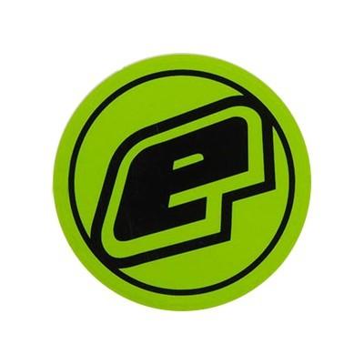 Eclipse E Aufkleber grün rund