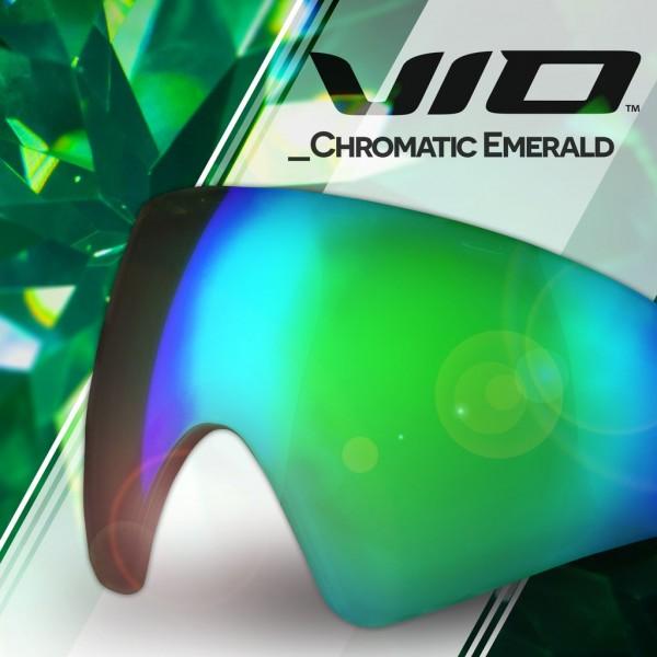 Paintball Maskenglas Virtue VIO / Bunker Kings CMD Thermal Chromatic Emerald
