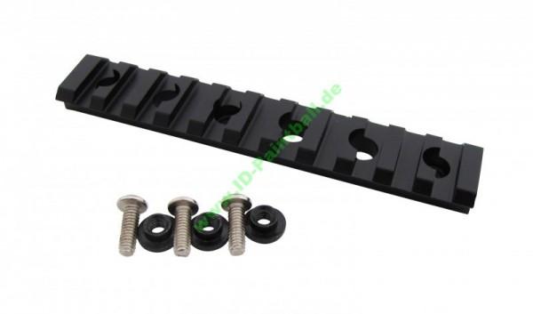 20mm Zusatz Picatinny Rail schwarz für ETHA EMC Kit