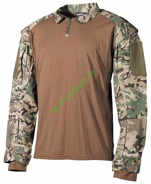 US Tactical Hemd, operation-camo Jersey