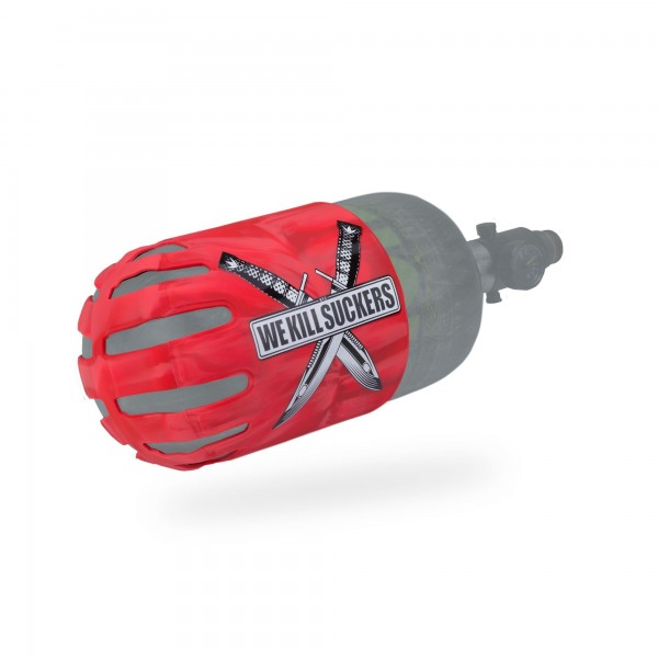 Bunker Kings Tank Cover Knuckle Butt Bottle cover