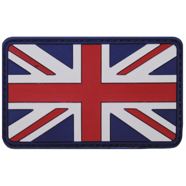 Klettabzeichen, Großbritannien, 3D