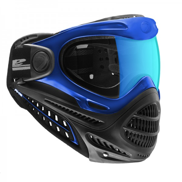 Paintball Maske DYE Axis Pro blue - Blue Ice