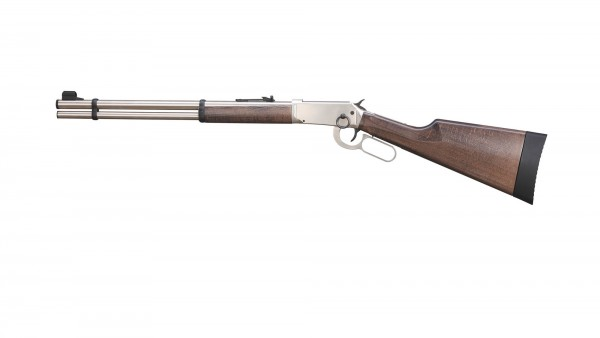 Walther Lever Action CO2 Gewehr 4,5 Diabolos - Steel Finish .177