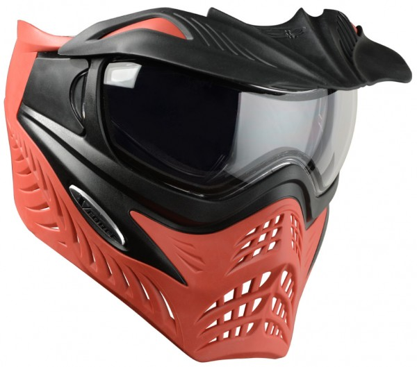 VForce Grill Paintball Thermal Maske Azure Grau Rot
