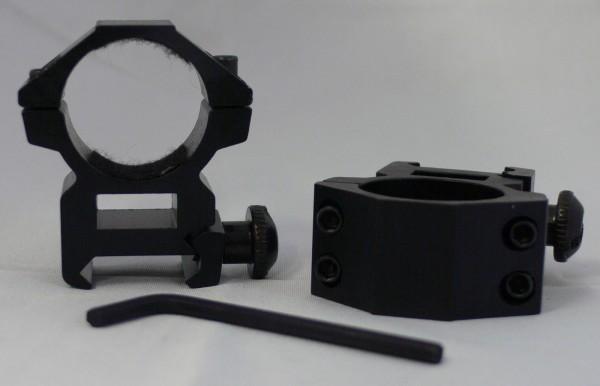 Montage Ringe für 22mm Schienen