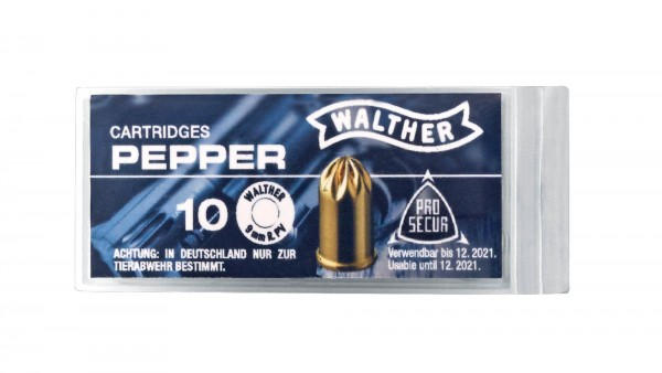 Walther Pfeffermunition 9mm R.K. Pepper