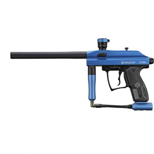 Spyder Xtra Paintball Marker Blau Matt