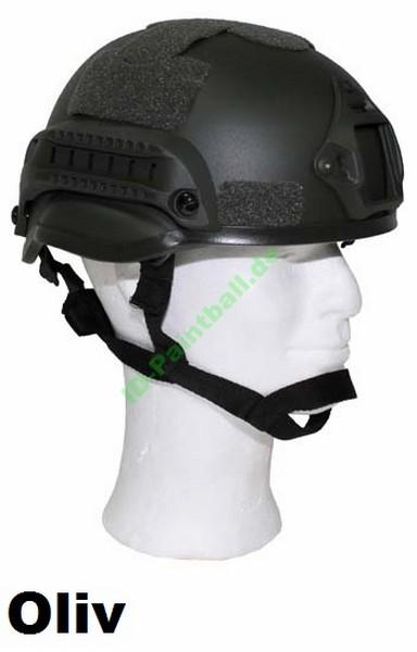"US Helm ""MICH 2002"" Rails ABS-Kunststoff"