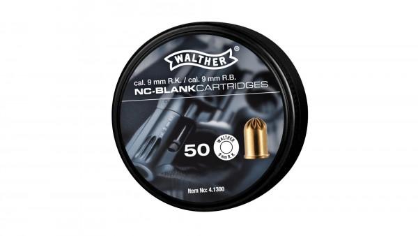 Walther Platzpatronen cal 9mm R.K 50 Stück