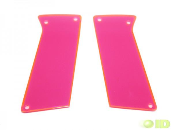 Bob Long Victory Griffschale Pink transparent