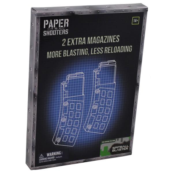 "PAPER SHOOTERS, Bausatz, ""Magazin-Green Spit"", 2er Pack"