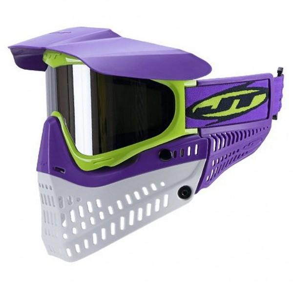 JT Spectra Proflex Thermal Paintballmaske Purple-Lime-Withe