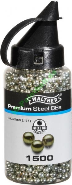 1500 Walther Premium Gold Steel BBS 4,5mm