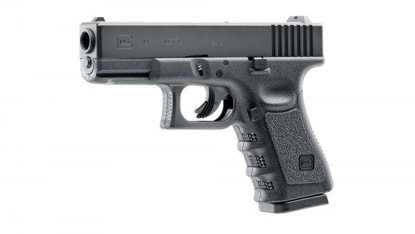 Glock 19 Pistole 4,5 mm (.177) Steel BB Co2