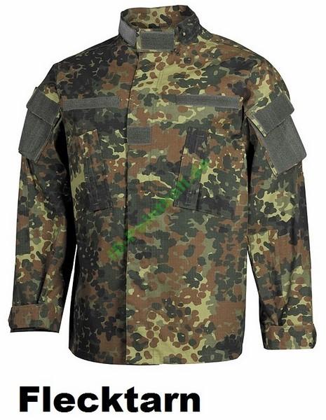 US Uniform Feldjacke Ripstop Camo Jersey